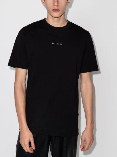 Address logo cotton T-shirt