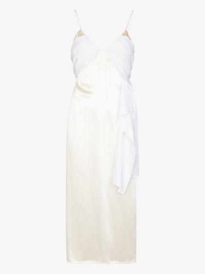 foulard formal slip dress
