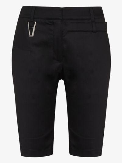 Punk tailored shorts