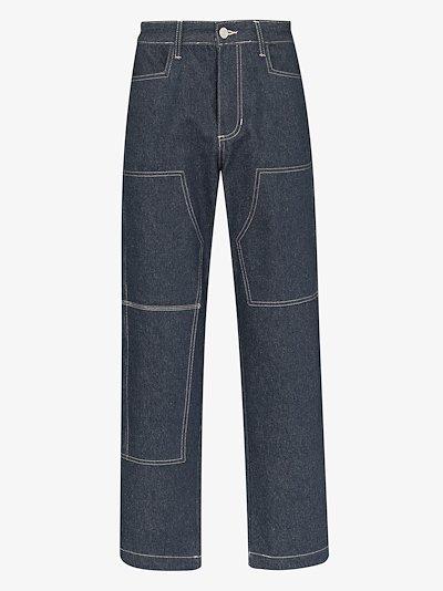 X Stüssy workwear jeans