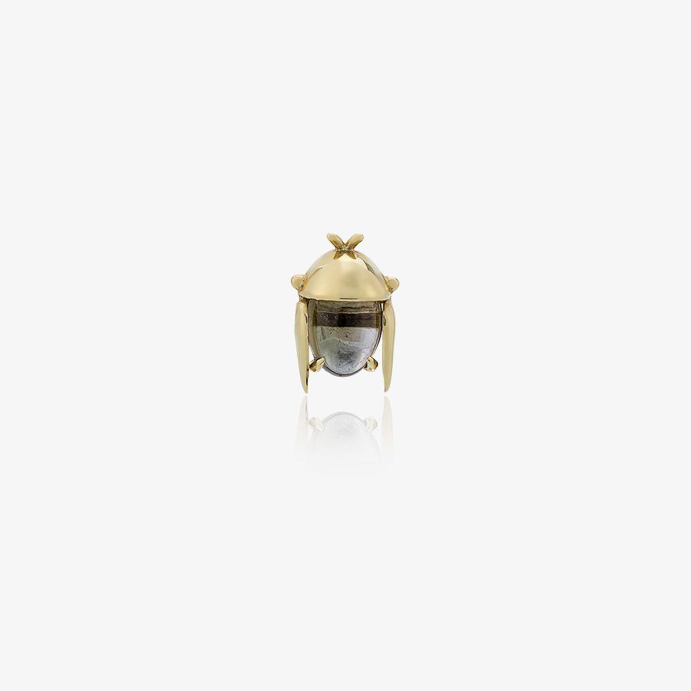 18K Yellow Gold Mini Chiquitin Volador Single Stud Earring