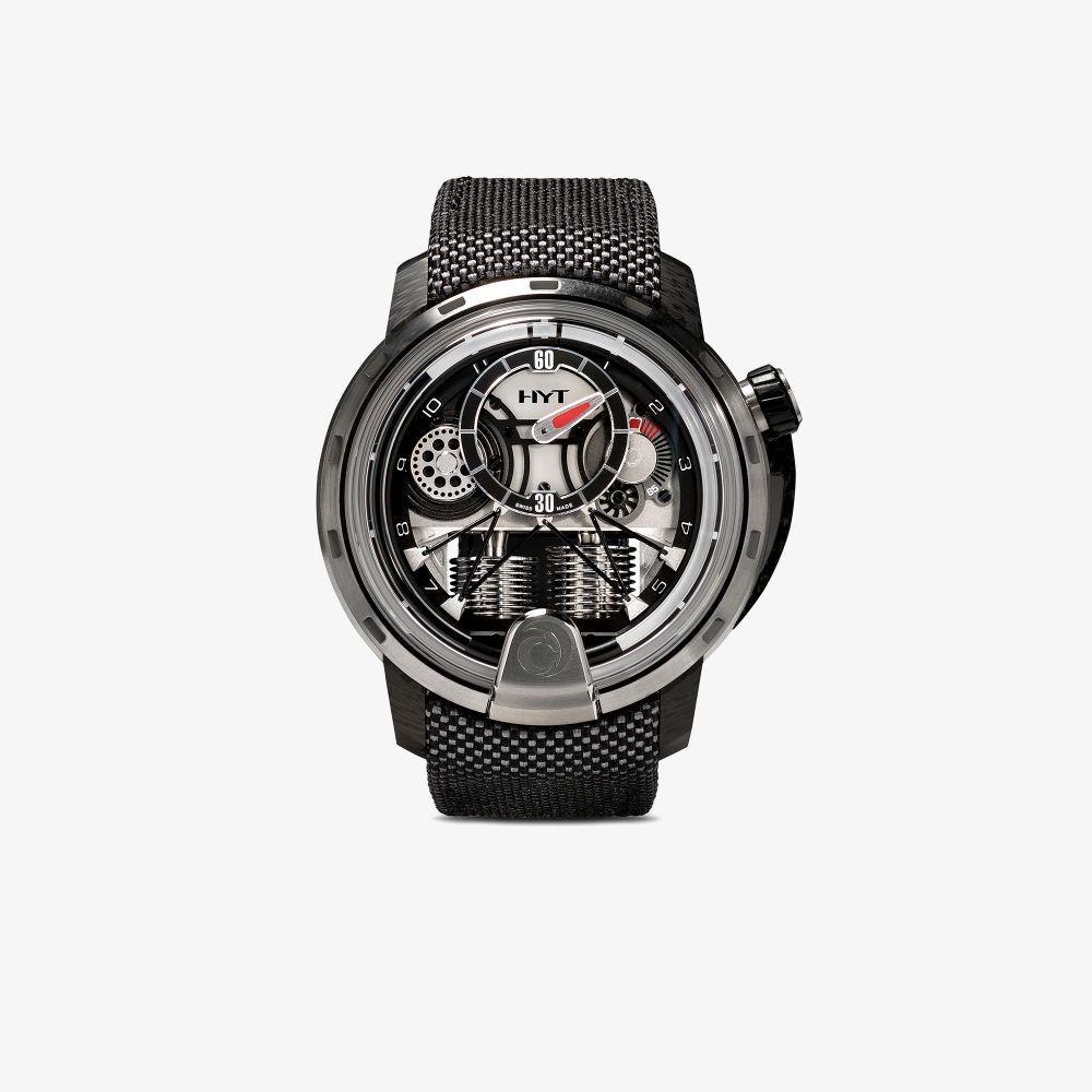 Black H1 Alinghi Silk Satin Watch