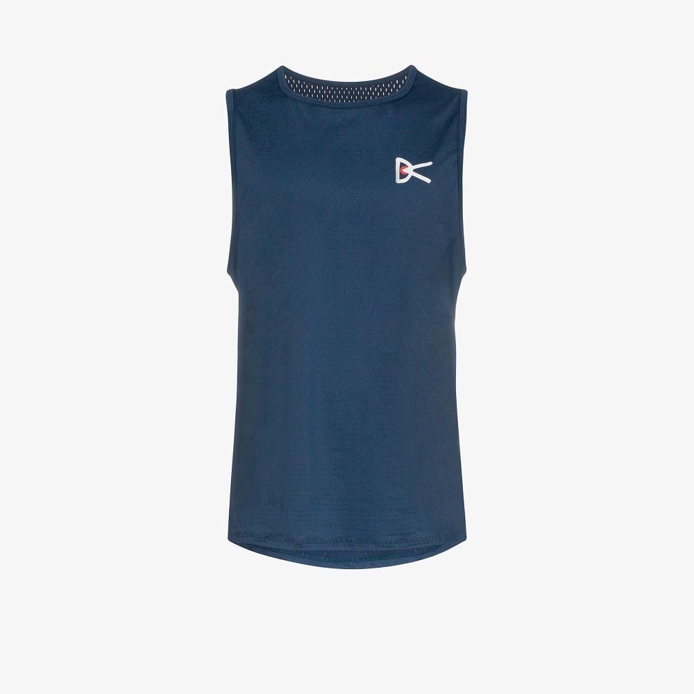 Blue Air Wear Stretch Sports Vest