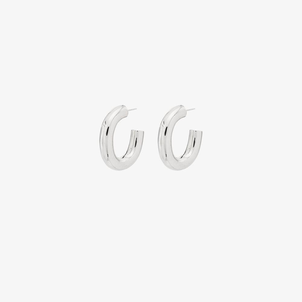 Sterling Silver Bubble Hoop Earrings