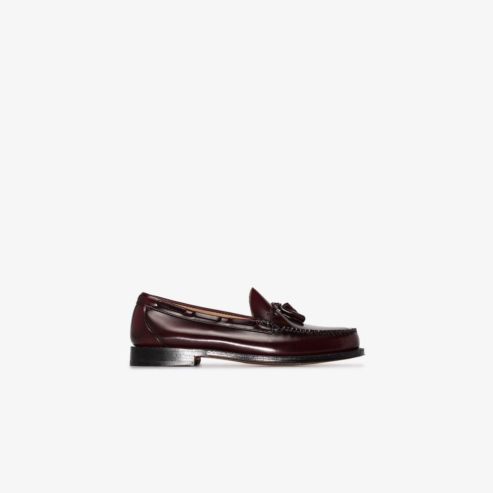 Brown Weejuns Larkin Tassel Leather Loafers