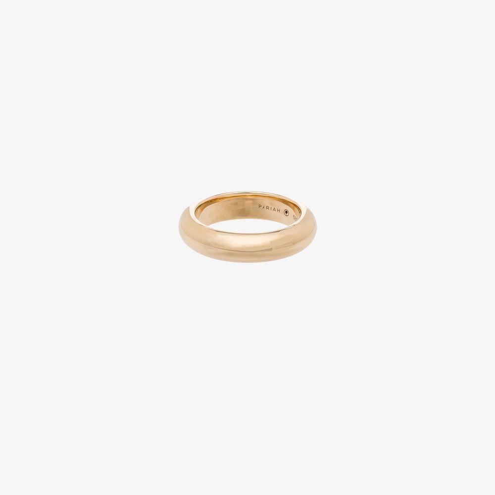 14K Yellow Gold Albert Ring