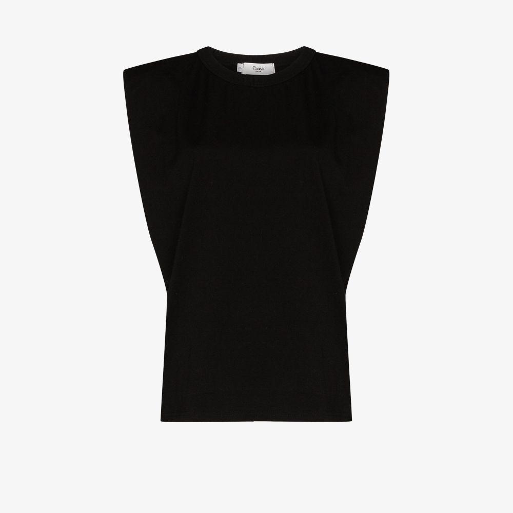 Eva Padded Cotton T-Shirt