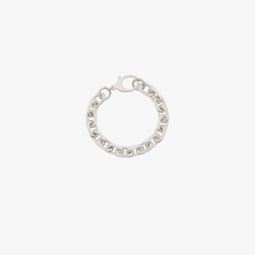 Sterling Silver XL Edge Link Chain Bracelet