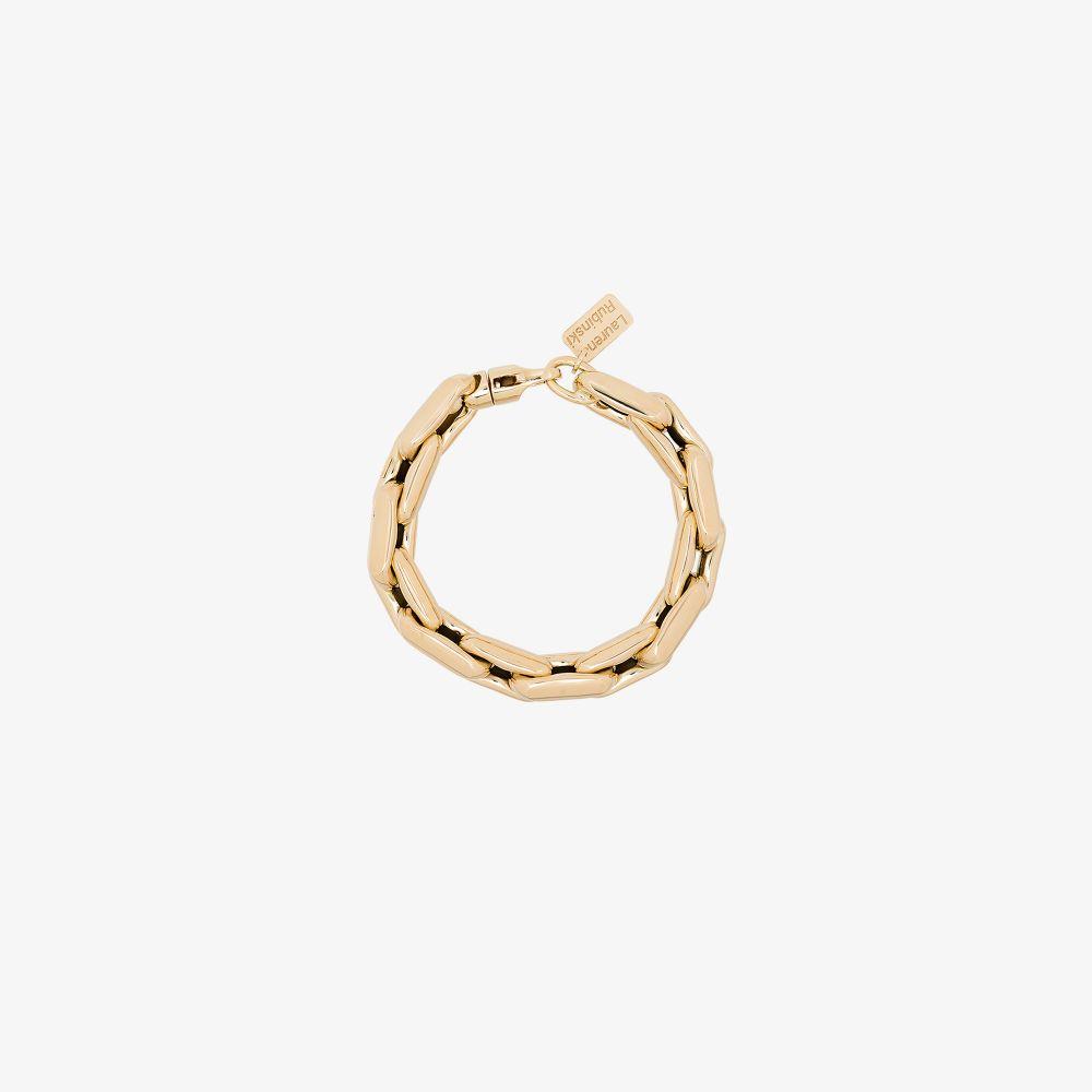 14K Yellow Gold Medium Square Link Bracelet