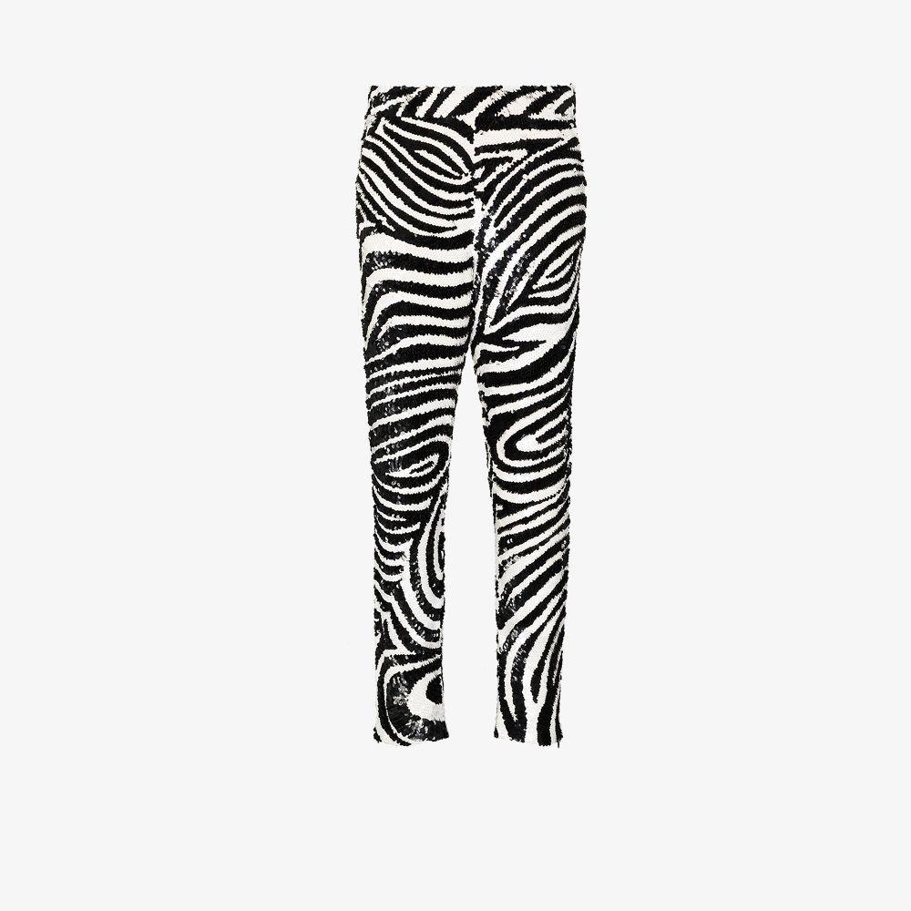 Zebra Sequinned Trousers