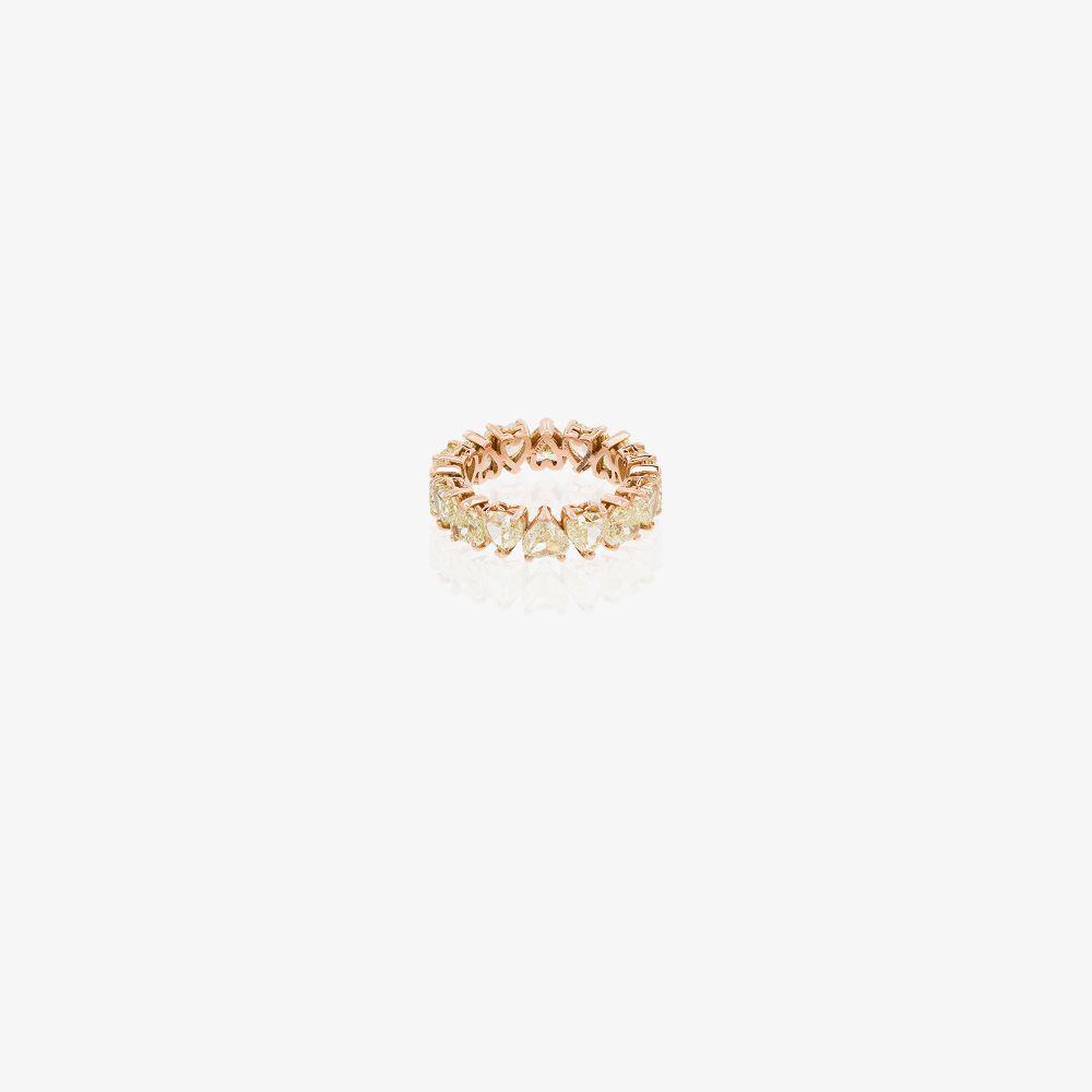 Shay 18K ROSE GOLD HEART DIAMOND RING