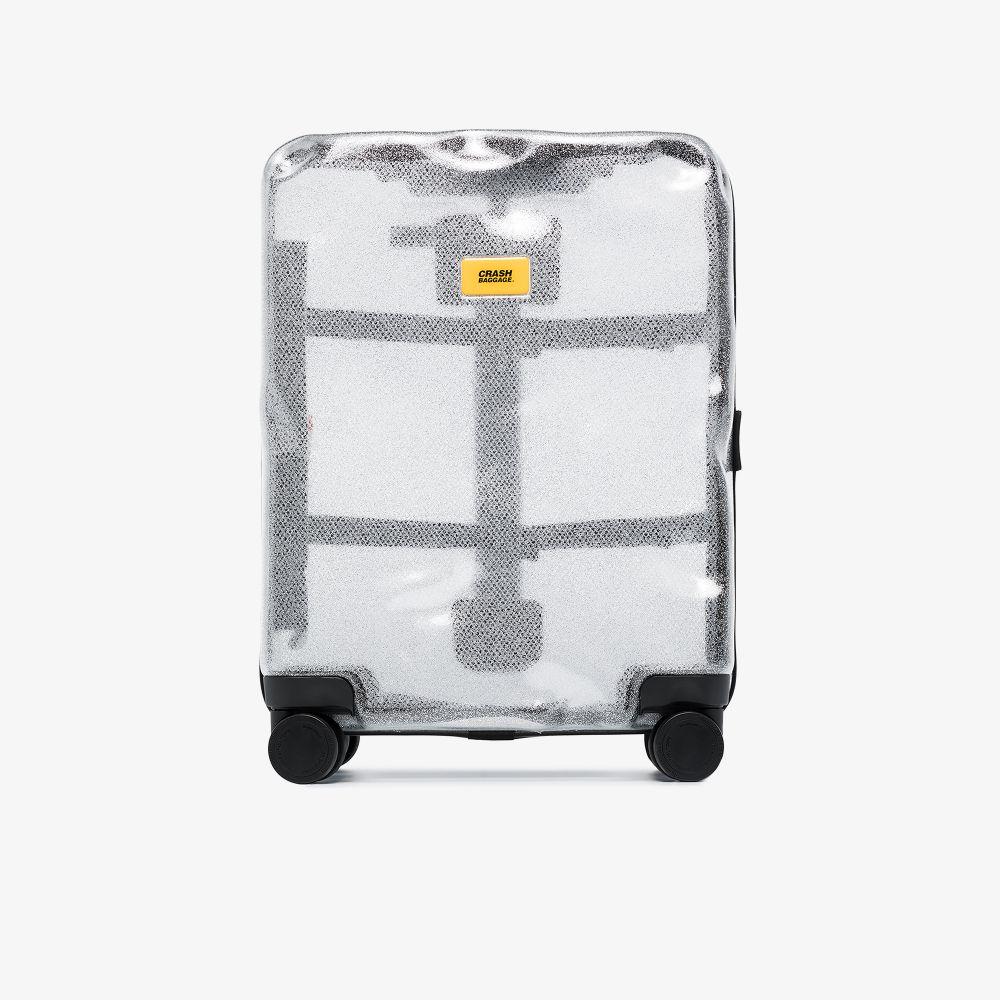 Silver Icon Small Cabin Suitcase