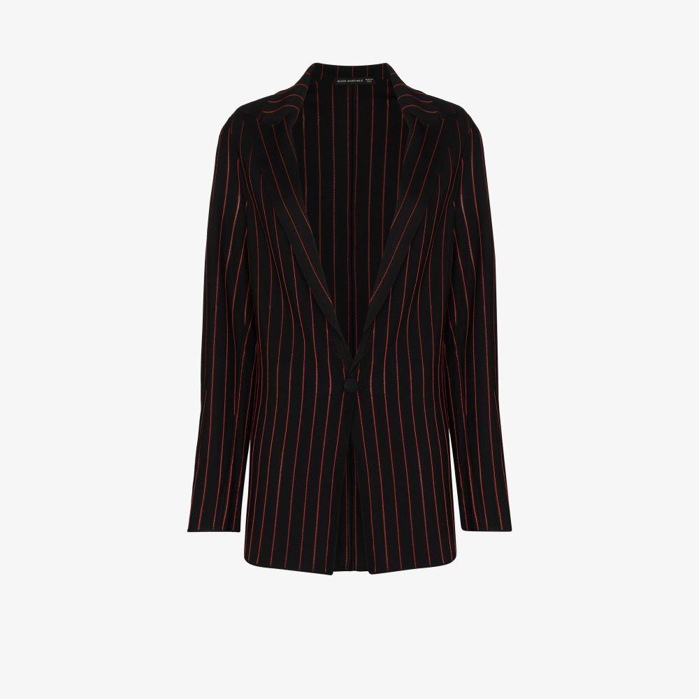 Contrast Striped Blazer