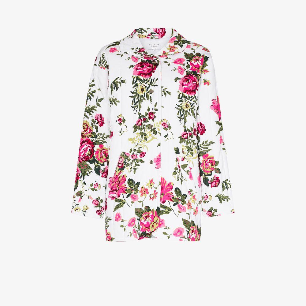 Shelter Rose Print Quilted Jacket