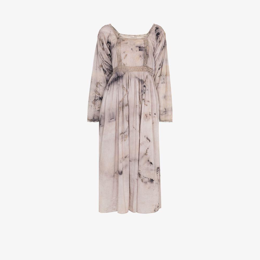 Catherine Tie-Dye Lace Midi Dress