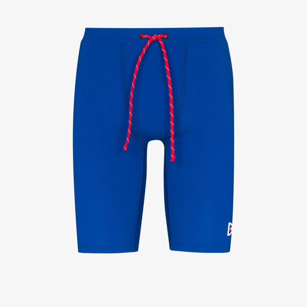 Blue TomTom Compression Shorts