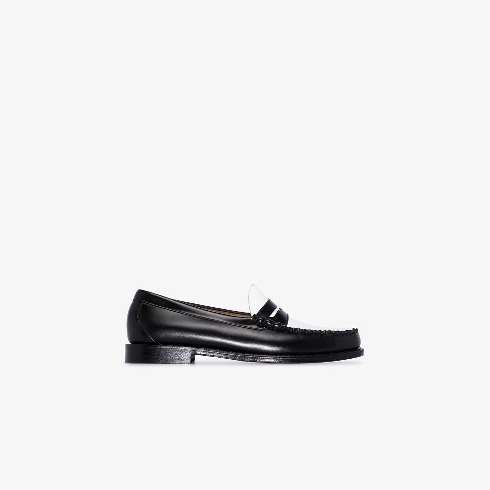 Black Heritage Larson Weejun Leather Loafers
