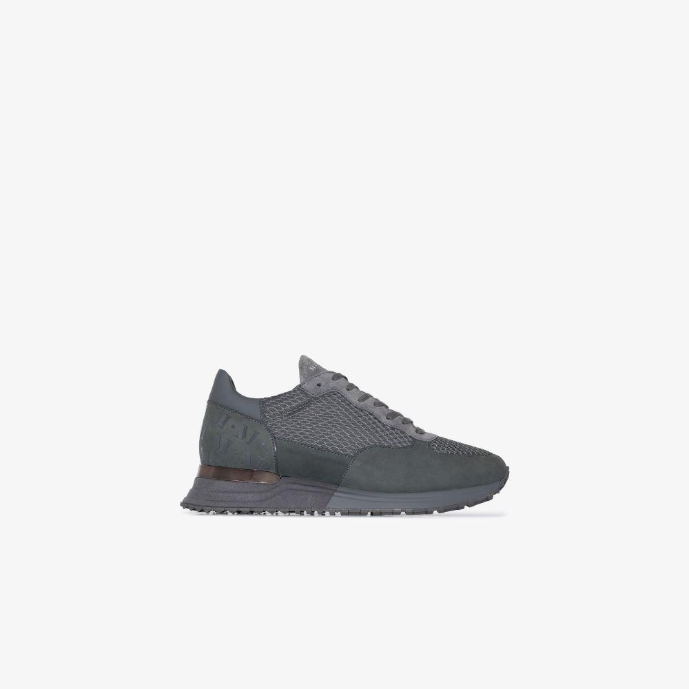 Grey Popham Suede Sneakers