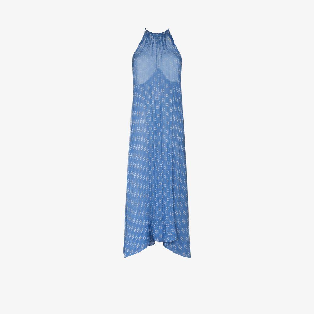 Hutton Silk Midi Dress
