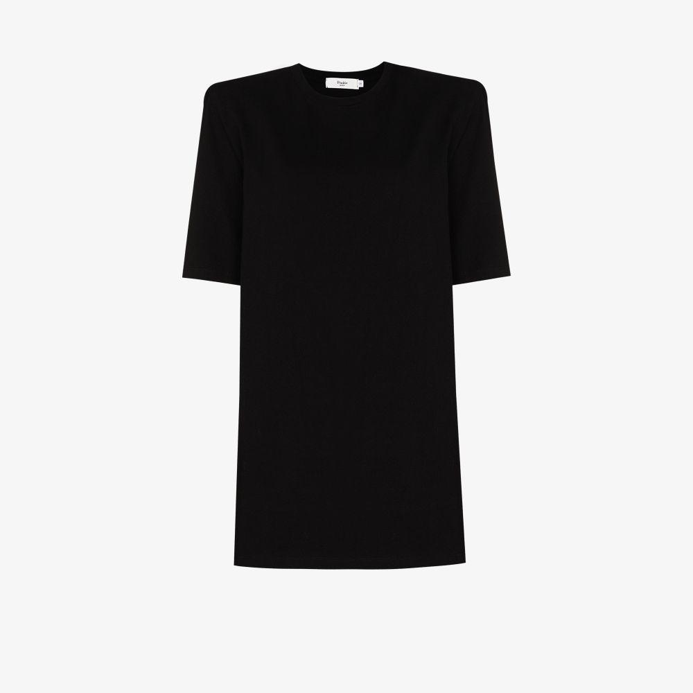 Sean Padded Shoulder T-Shirt Dress