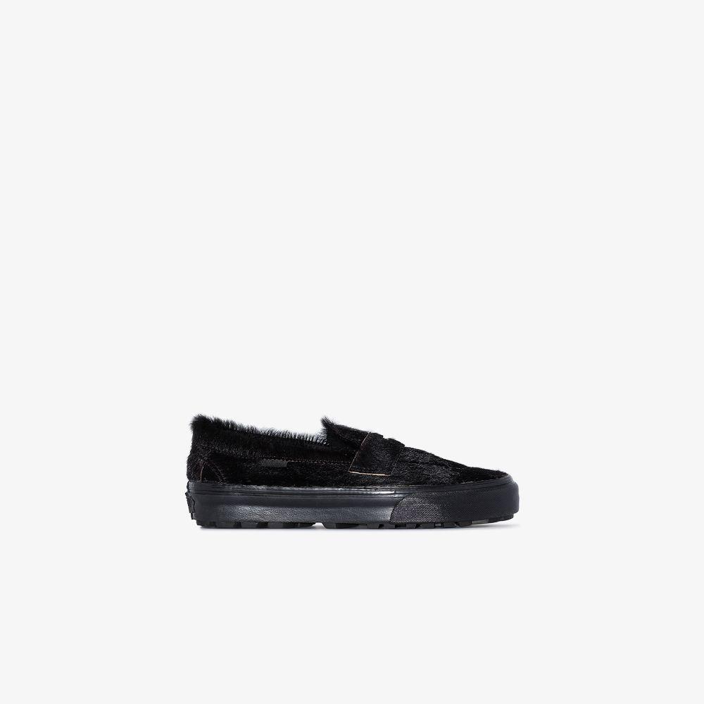 Vans Sneakers BLACK UA STYLE 53 LX PONY HAIR SNEAKERS