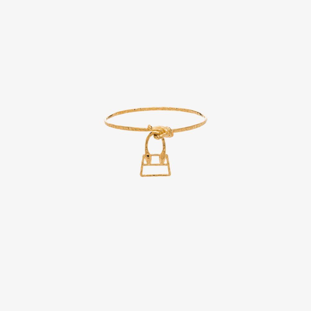 Jacquemus Gold Tone Le Chiquita Bracelet