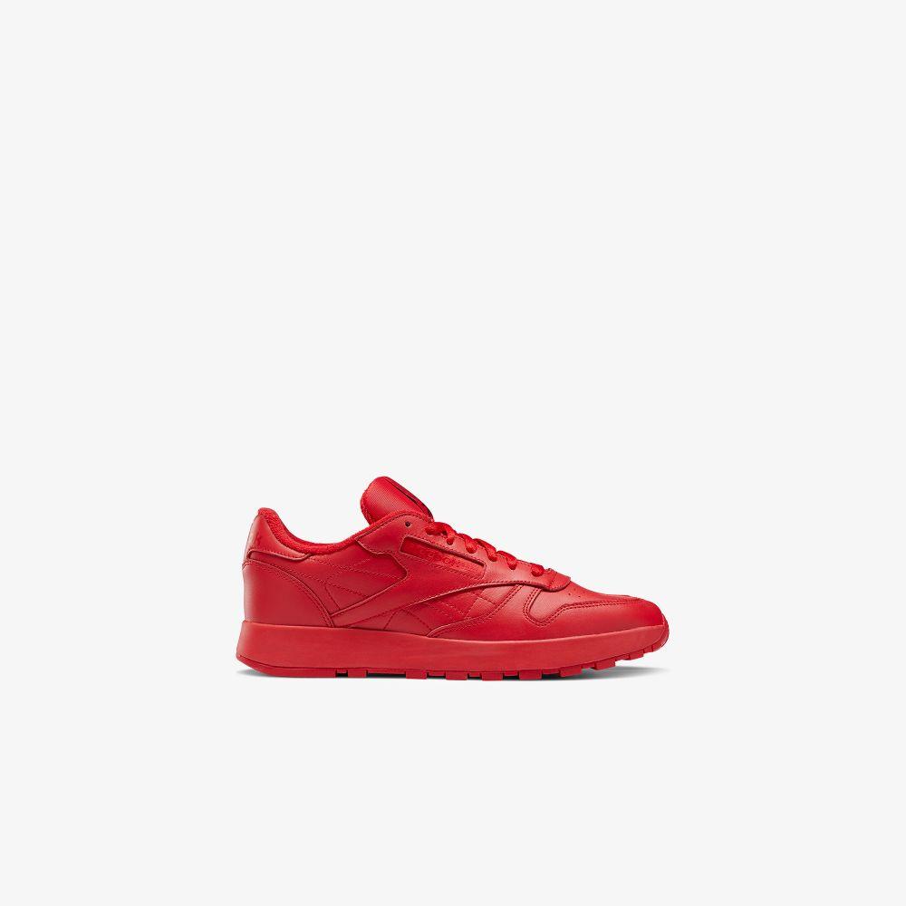 X Reebok Red Classic Leather Tabi Sneakers