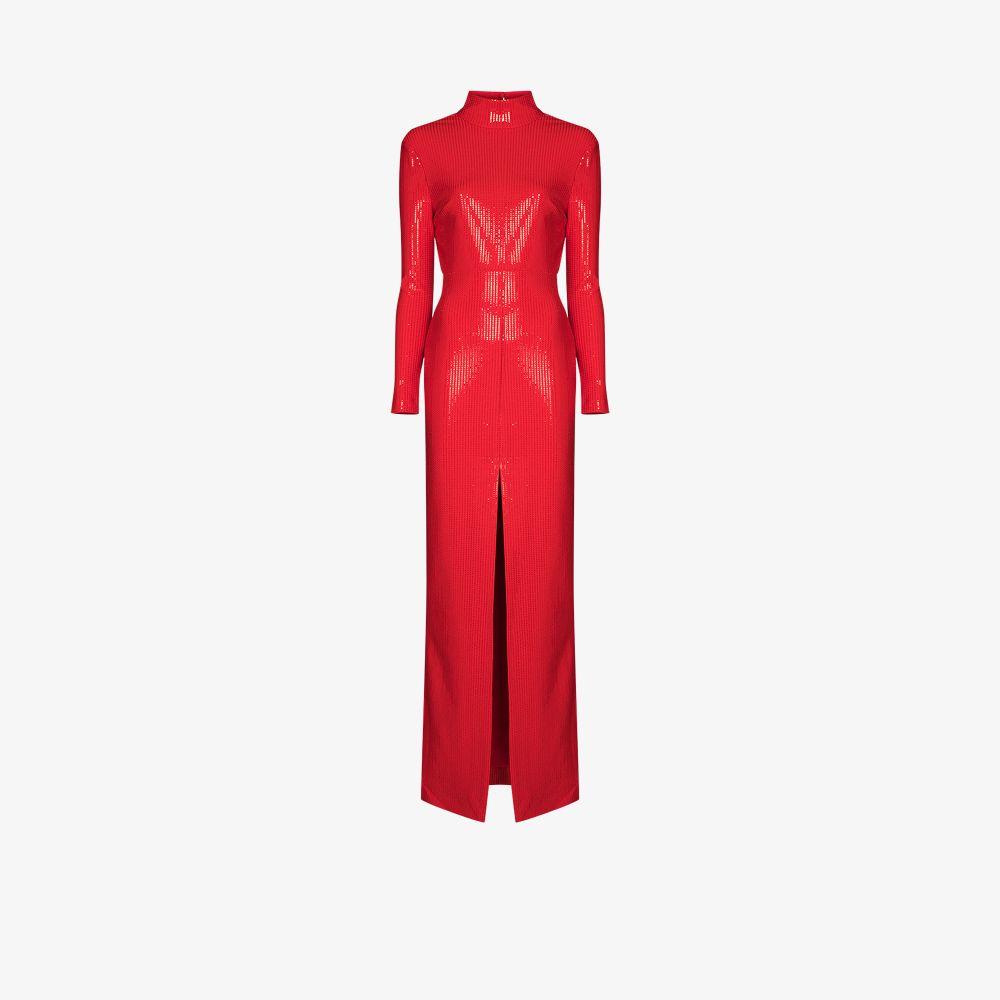 Solace London Maxi dresses RED HARPER SEQUIN MAXI DRESS