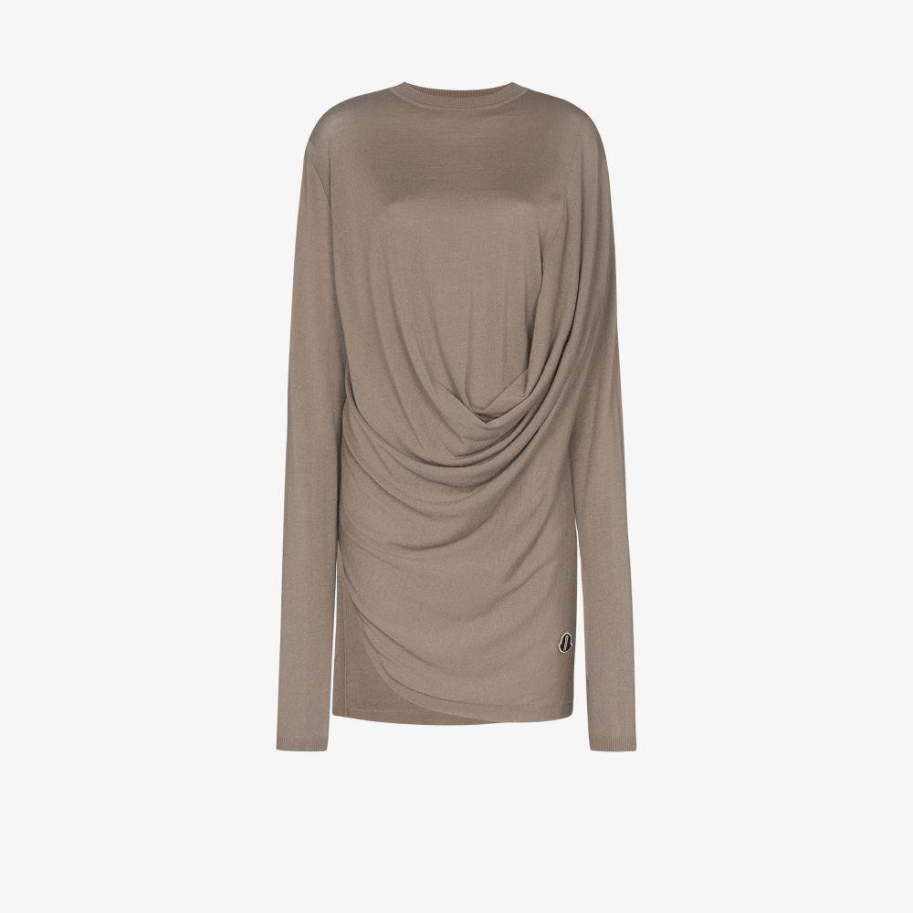 Draped Cashmere Sweater