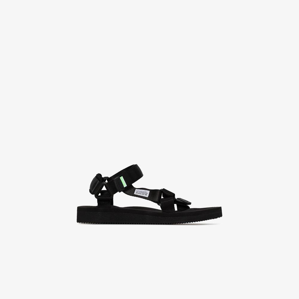 Suicoke Sandals BLACK DEPA-CAB STRAP SANDALS