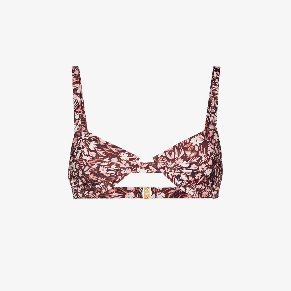 Izzy Floral Bikini Top