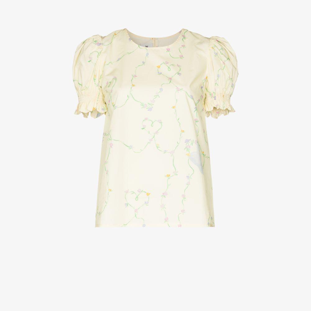 Kumo Amour Print Cotton T-Shirt