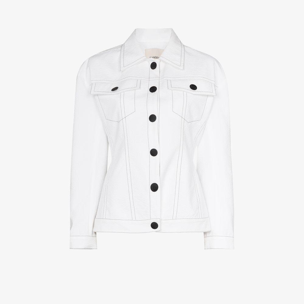 Olga Contrast Stitching Jacket