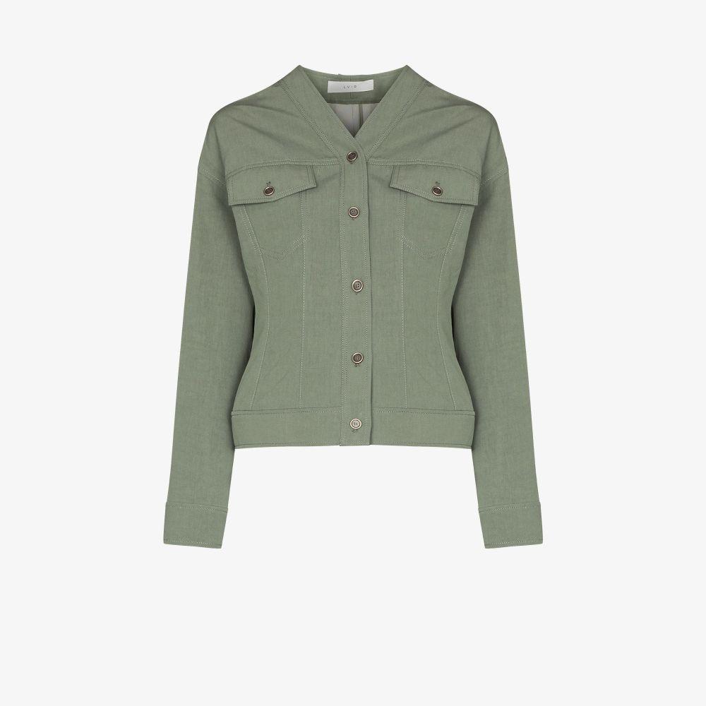 Collarless Cropped Jacket