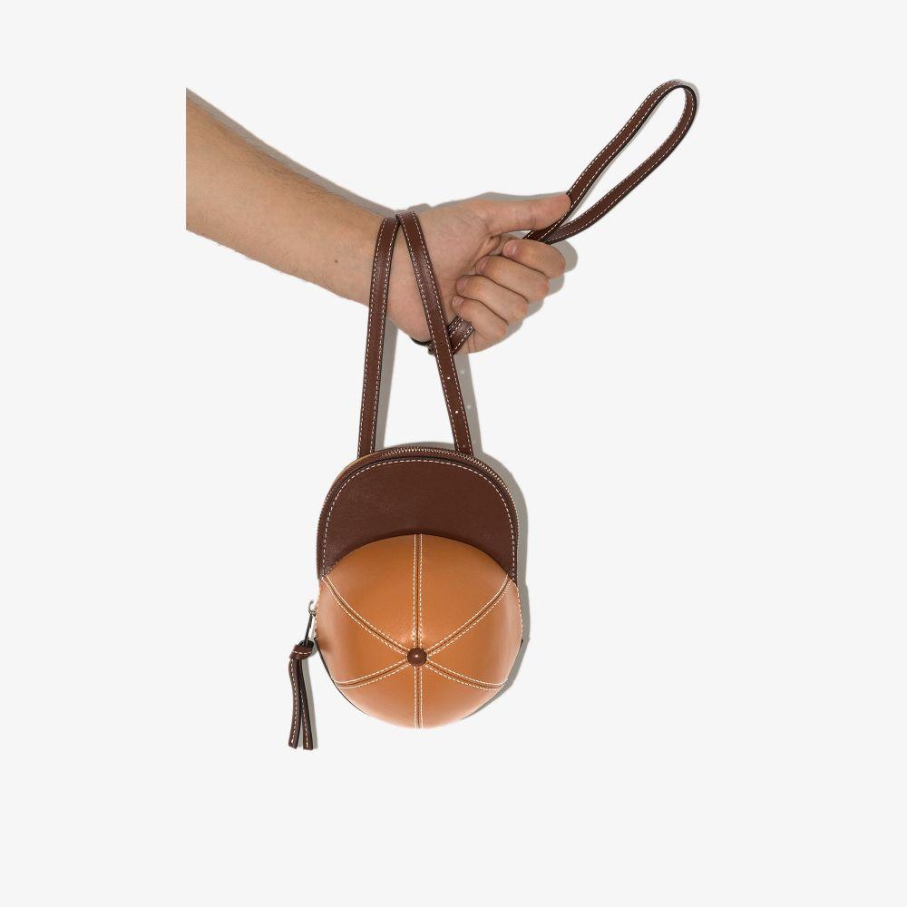 Jw Anderson J.w. Anderson Men's Brown Leather Messenger Bag