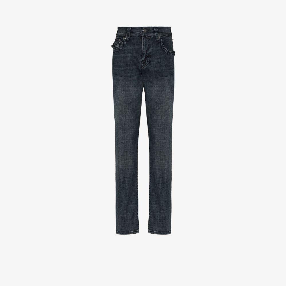 True Religion Straight jeans BLUE RICKY STRAIGHT LEG JEANS
