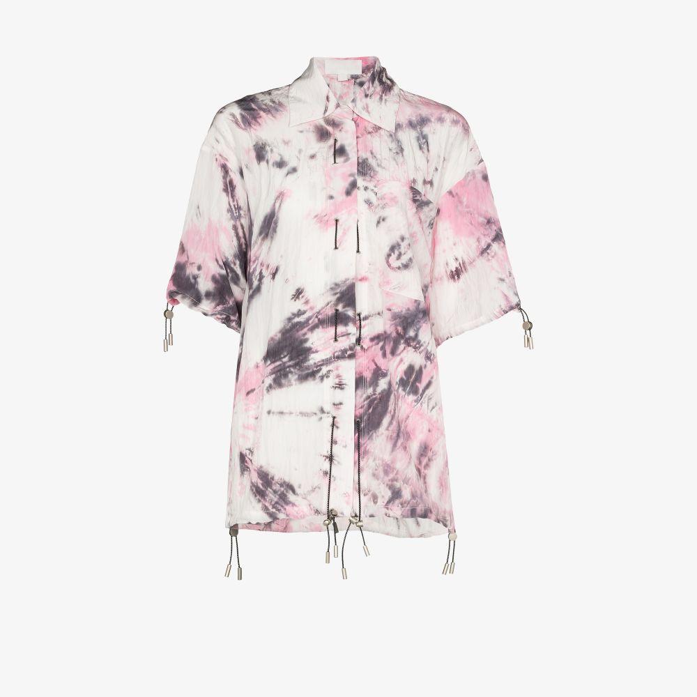 Tie-Dye Drawstring Shirt