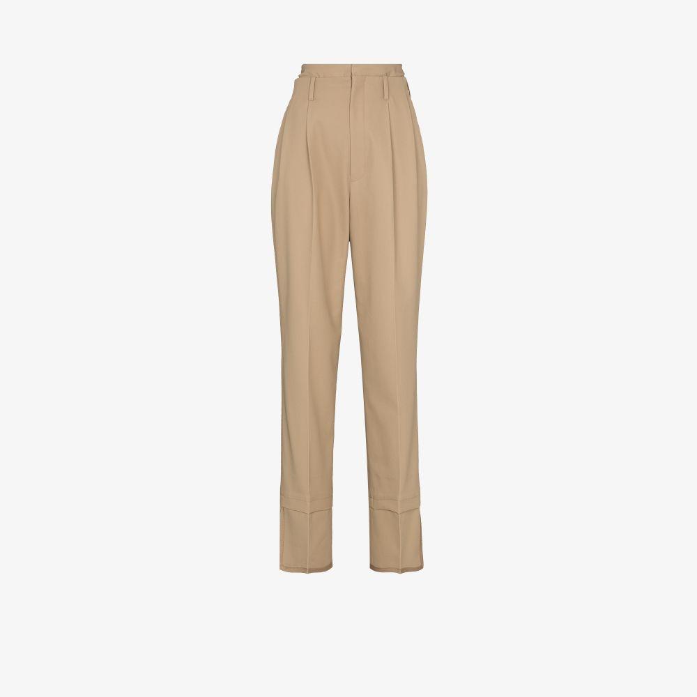 Layered High Waist Trousers