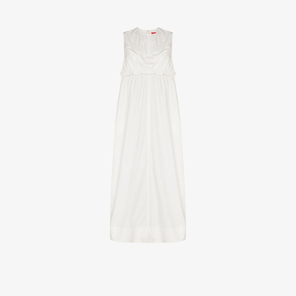 Layered Cotton Maxi Dress