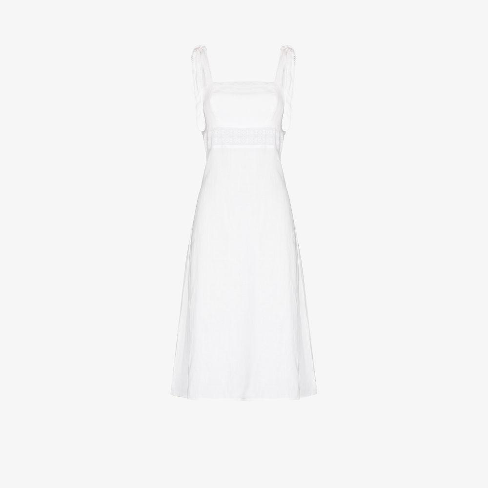 Claudette Linen Dress