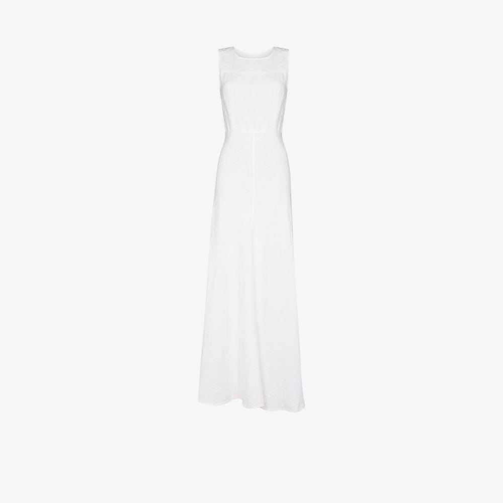 Lisette Linen Maxi Dress