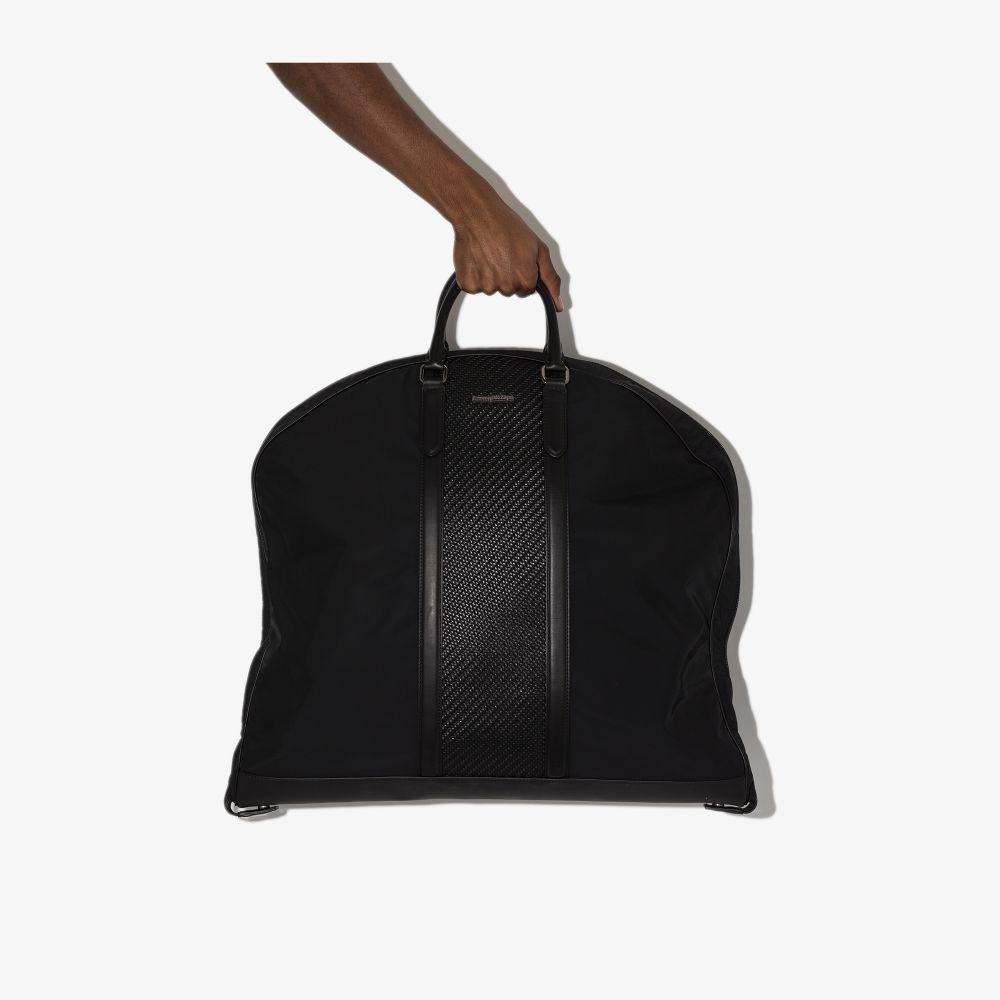 Ermenegildo Zegna BLACK MANAGER HOLDALL BAG