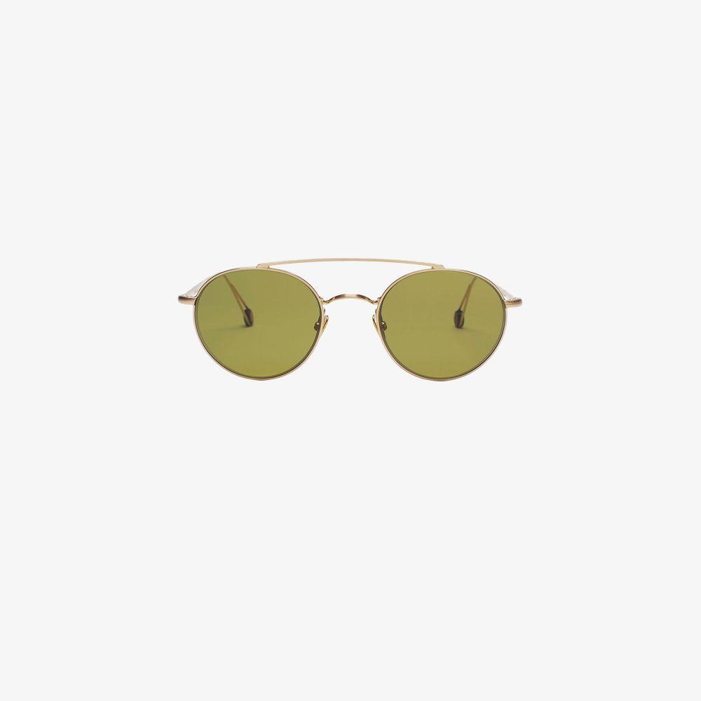 Gold-Plated Place De La Bastille Sunglasses