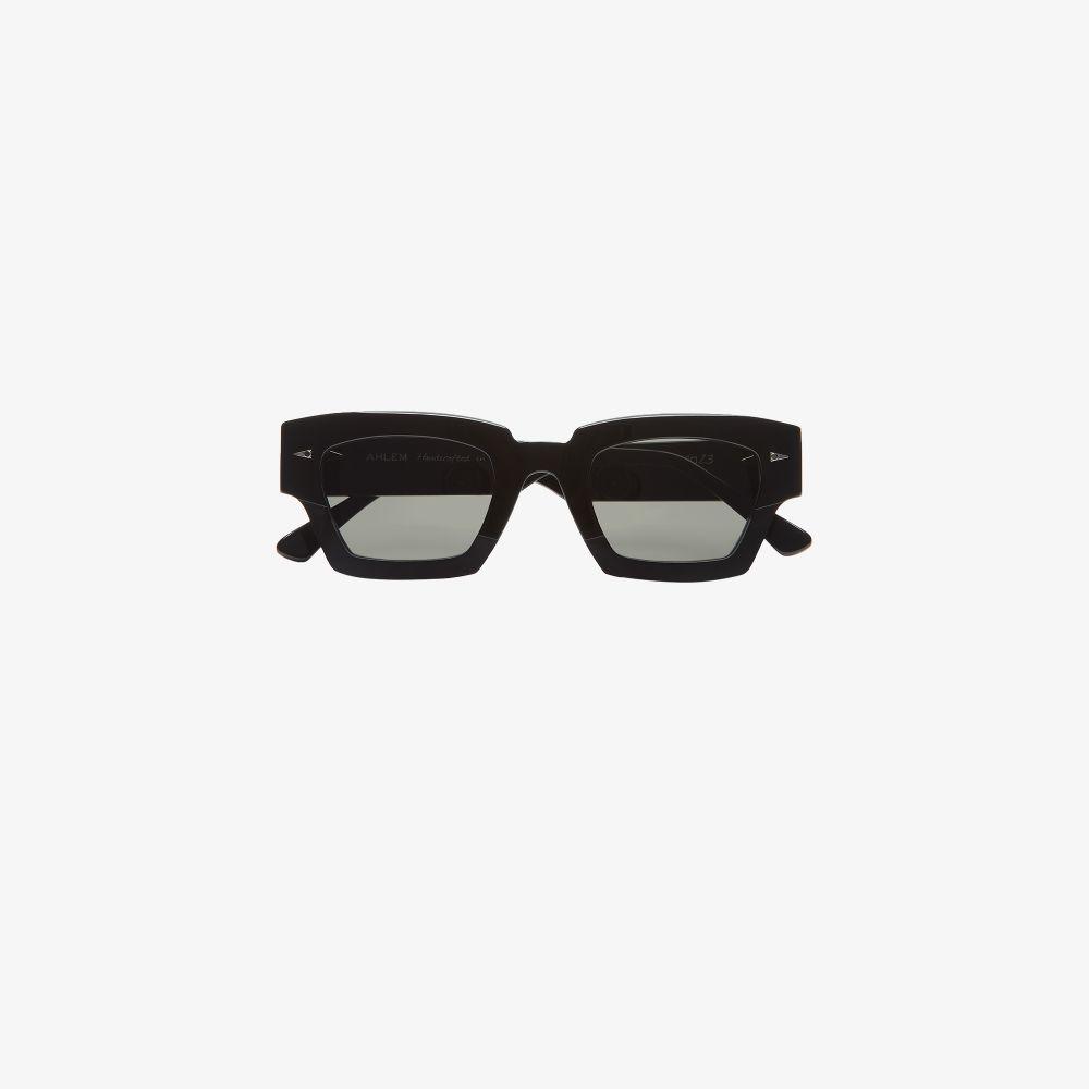 Black Villette Square Frame Sunglasses