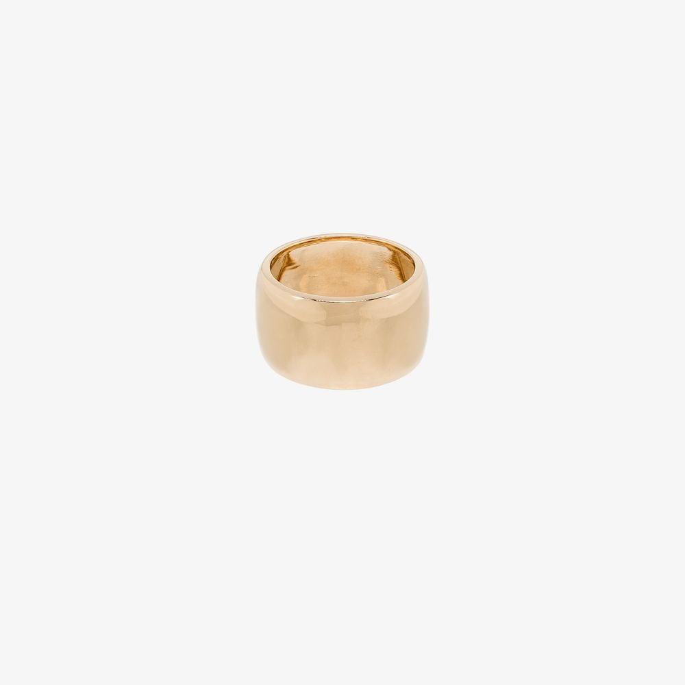 14K Yellow Gold Barrel Ring