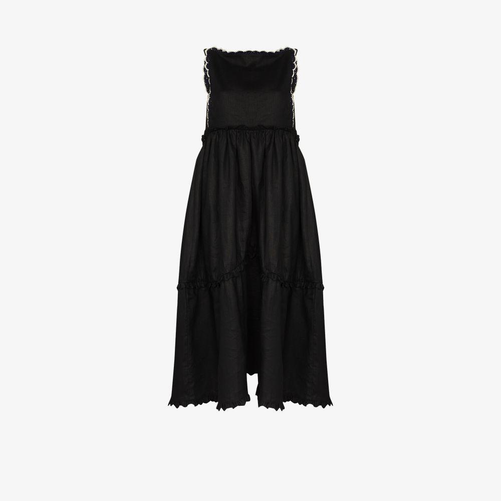 Ramya Linen Midi Dress