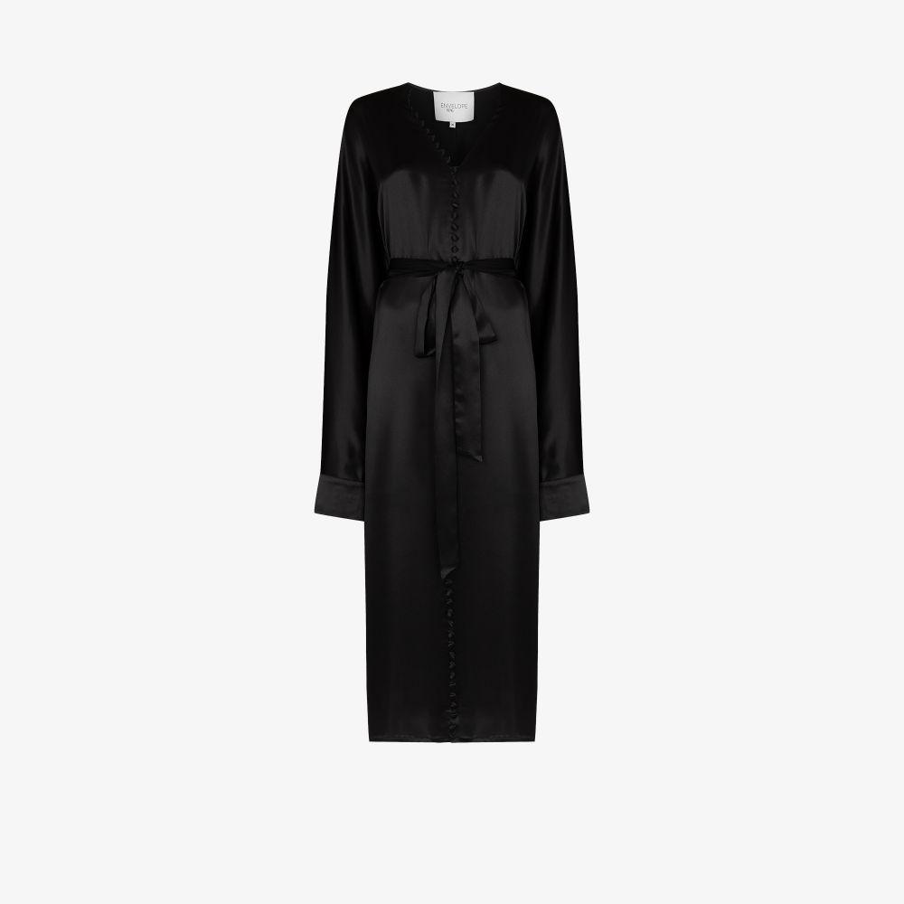 Cannes Silk Midi Dress
