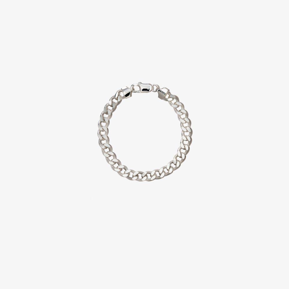 Sterling Silver Cuban Chain Bracelet