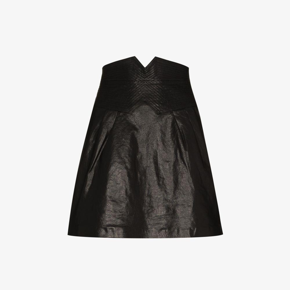 Sorenga Leather Mini Skirt