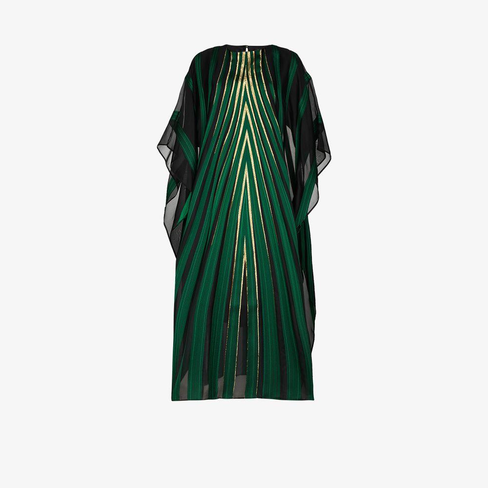 Taller Marmo Silks ART DECO KAFTAN DRESS